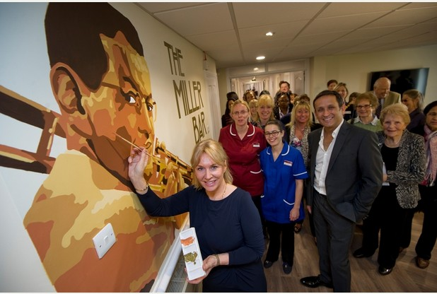Nadine Dorries MP opening New Meppershall Care Home